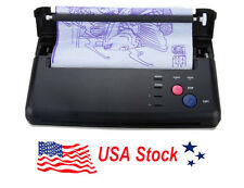 Pro Tattoo Copier Machine Transfer Thermal Printer Maker Stencil Paper Flash US