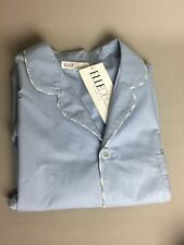 ElleDeco Paris Baby Blue Top Pajamas Sleepwear size Large NWT