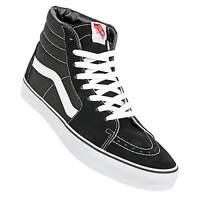 Vans Sk8 Hi schwarz weiß Skate Schuhe black/white - Unisex Damen u Herren