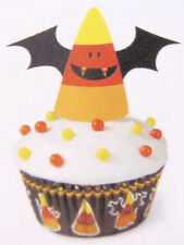 Candy Corn Bat Halloween Cupcake Decorating Kit from Wilton #3174 - NEW