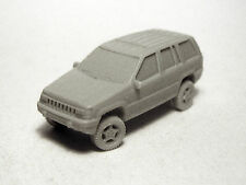 N-Scale 1/160 Vehicle, Auto, Willmodels '93-'96 Jeep Grand Cherokee, Resin Kit