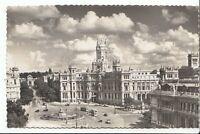 Spain Postcard - Madrid - Plaza De La Cibeles y Palacio De Comunicaciones U546