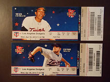 Los Angeles Dodgers 2014 MLB ticket stub - 10,000 MLB franchise win - 4/30/2014