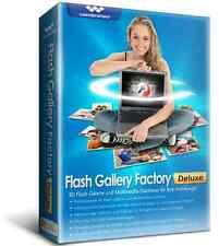 Wondershare Flash Gallery Factory Deluxe lifetime Vollvers.Download nur 19,99 !!