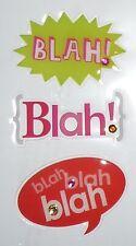 BLAH! Blah! bLah Design Stickers for Apple iPhone/iPad/iPod & Smart Phone Decal