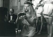 ARIELLE DOMBASLE CHASSE CROISE 1981 PHOTO ANCIENNE ARGENTIQUE N°5