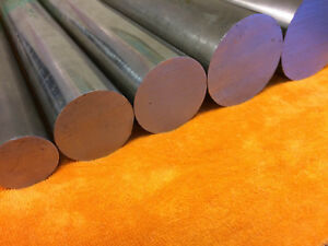 """BRIGHT MILD STEEL Round Bar Rod Billet Spacer 3/16"""" to 2"""" Dia up to 1000mm long"""