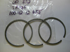 JLO ROCKWELL L-372 STANDARD PISTON RINGS QTY OF 3 RINGS FOR OEM PISTON NOS
