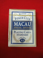 Macau Playing Cards Casino Series Special Edition