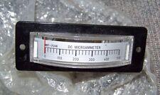 Nos Cb/Ham Radio Dc Microammeter Micro Amp Meter Mf-70W Made in Japan