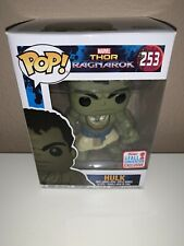 Funko Pop Hulk #253 Marvel Thor Ragnarok 2017 Fall Convention Excl. IN PROTECTOR