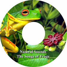 Natural Sounds The Songs of Frogs CD Relaxation Help Sleep Stress Relief Calming