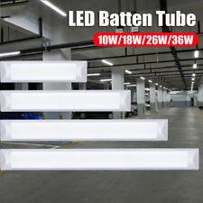 2FT/3FT/4FT LED Batten Tube Linear Light Tri-Proof Surface Panel Ceiling Lights