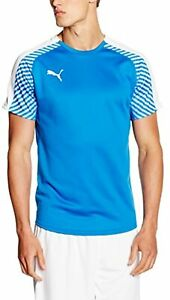 PUMA Men's T-shirt Indoor Tournament, Royal-White, M