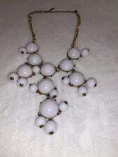 White Women's Bubble Necklace