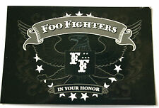 FOO FIGHTERS In Your Honor Original Collectable Sticker Official 2005