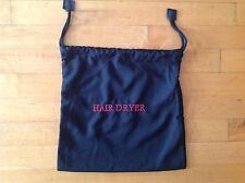 Hair Dryer Hospitality  Bag 12 X 12 In Black Cotton/Poly with Draw String