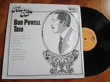 BUD POWELL TRIO Hooray For LP LIVE SESSION DISC NO CD RARE