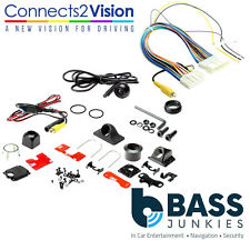 Rear Reversing Camera & Add On Interface Kit For Nissan Versa-Note 2014 Onwards