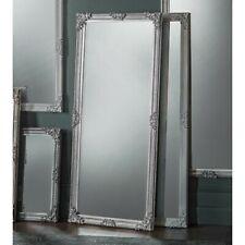 Fiennes Large SILVER Vintage Full Length leaner Floor Wall Mirror 160cm x 70cm