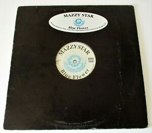 """Mazzy Star - Blue Flower USA 1990 Rough Trade Promotional 12"""" Single"""