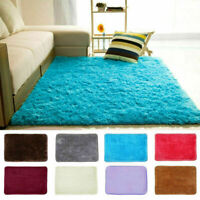 S X L Fluffy Rugs Anti-Slip SHAGGY RUG Soft Carpet Mat Living Room Floor Bedroom