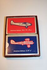 Vintage Playing Cards American Airlines DH-4 & Ford Tri-Motor