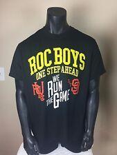 Rocawear Roc Boys One Step Ahead We Run The Game Black Men's T-Shirt XXL / 2XL