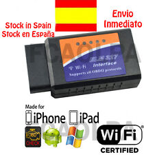 ELM327 WIFI MULTIMARCA DIAGNOSIS OBDII OBD2 COCHE SCANNER ELM 327 IPHONE IPAD