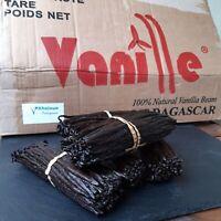 50 g Vanille Klasse A Madagaskar Vanilla pods Gourmet Vanilleschoten