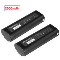 2 x 6V 2000mAh 404717 Battery for PASLODE 404400 900400 900420 Cordless Nailer