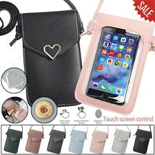 For iPhone 12 11 Pro Max X/XS/XR Touchable Leather Change Bag Phone Case Cover