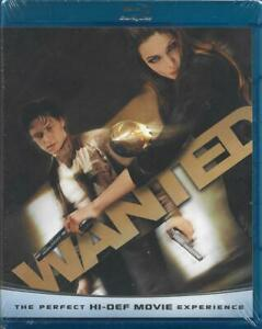 Wanted (Blu-ray Disc, 2008) NEW!