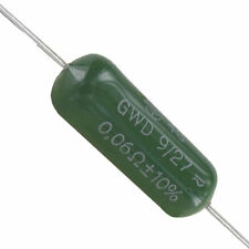2 Stück Draloric Drahtwiderstand 0,06 Ω 9 Watt Neuware ohne RoHS