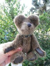Humbolett Boyds Bear Golden Teddy Winner Biker Bear With Studded Leather Collar