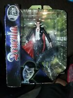 2011 Diamond Select Toys Universal Studios Monsters Dracula Figure W/Wolf NIB