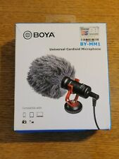 BOYA BY-MM1 Video Record Microphone for Canon DSLR Camera Smartphone Youtube
