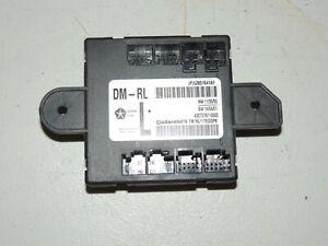 2014 - 2017 MASERATI GHIBLI S Q4 DOOR CONTROL MODULE USED OEM LEFT REAR