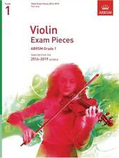 ABRSM Violin Exam Pieces Grade 1 Part Only 2016-2019 (No Piano Part)
