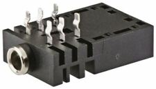 Serie DE CA Amphenol, Montaje PCB 3.5 mm Jack Socket, 3,-, 10 A