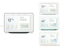 Google Home Nest Hub Smart Voice Assistant with Touch Screen - Charcoal Chalk