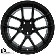 UP520 19x9.5 5x112 Matte Black ET40 Wheels Fits Audi b5 b6 b7 b8 c4 c6 Q5