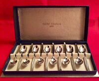 Vintage Gero Zilvium Set Of Coffee Spoons