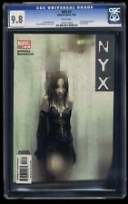 NYX #3 CGC NM/M 9.8 White Pages 1st X-23!