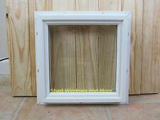 Square Double Pane 12 x 12 Window PVC Vinyl Home Tiny House Playhouse Sheds