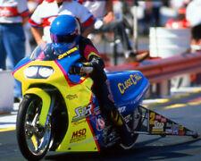 JOHN MYERS 1998 CLOSE CALL PRO STOCK BIKE 8X10 GLOSSY PHOTO #4