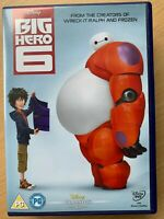 Big Hero 6 DVD 2014 Walt Disney's 53rd Animated Classic Film Movie w/ Slipcover