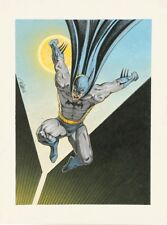 Signed Batman Painting by David Michael Beck, Comic Book Artist