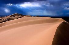 Incorniciato stampa-SAHARA DESERT DUNE di sabbia (PICTURE POSTER SCENIC Africa ART)