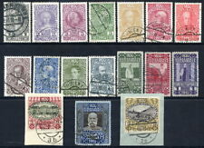 AUSTRIA 1910 80th Birthday set complete used